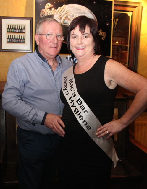 Maurice McElligott and Mary Fitzgerald sponsored by Macs Bar and Always Hygiene. Photo by Dermot Crean