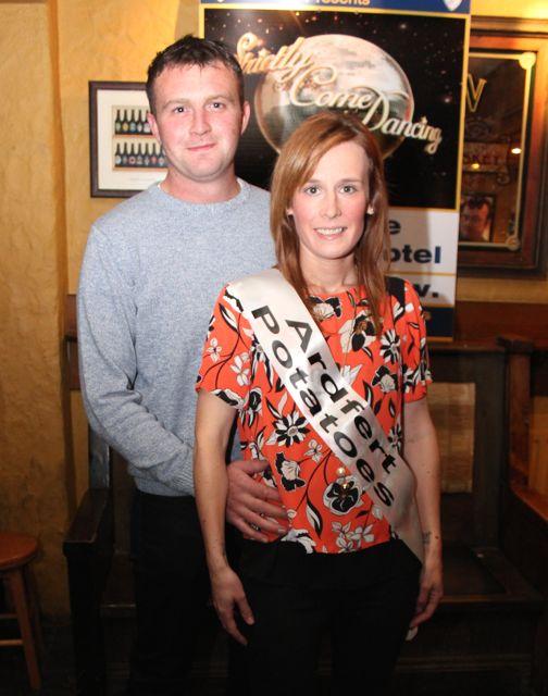 Kieran Fitzgerald and Linda O'Sullivan sponsored by Ardfert Potatoes. Photo by Dermot Crean