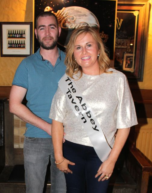 David Wallace and Geraldine Parker sponsored by The Abbey Tavern. Photo by Dermot Crean
