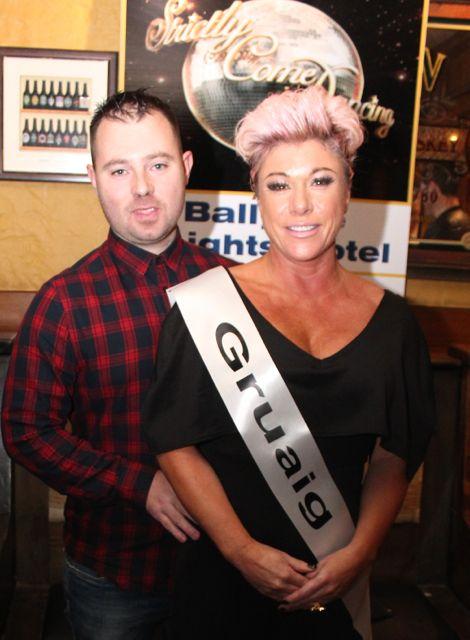 Chris Sheehan and Joanna O'Driscoll sponsored by Gruaig. Photo by Dermot Crean