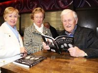 "Catharine and Helen O'Connor with John Cleary at the launch of ""Through the Lens"" by John Cleary. Photo by Gavin O'Connor."