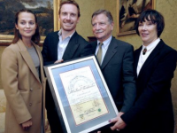 How Twitter Reacted To Michael Fassbender's Killarney Honour