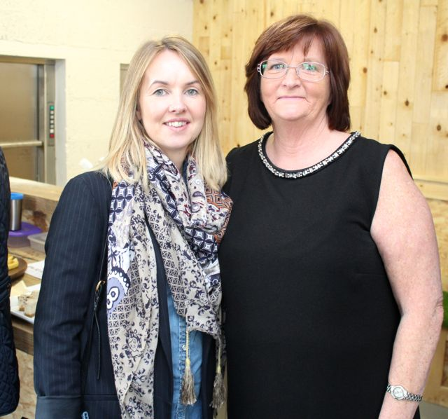 Emer and Helen Tobin at the official opening of HQ Tralee on Friday afternoon. Photo by Dermot Crean