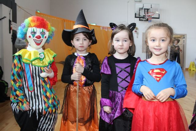 Young pupils enjoying Halloween fun at St Brendan's NS Blennerville on Friday. Photo by Dermot Crean