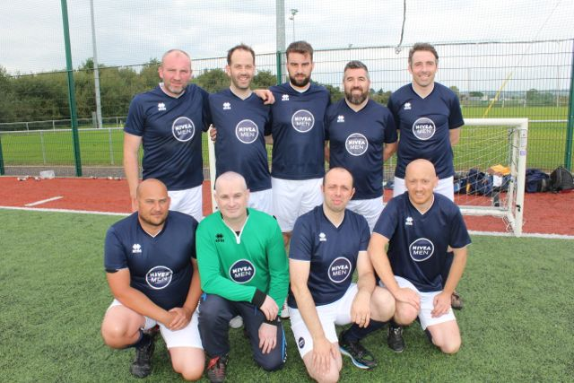 The Borussia MunchenBadBacks team. Photo by Dermot Crean