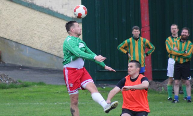 Action from the Under 35s final. Photo by Dermot Crean