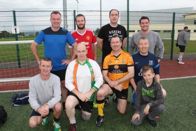 The Connolly Park team. Photo by Dermot Crean