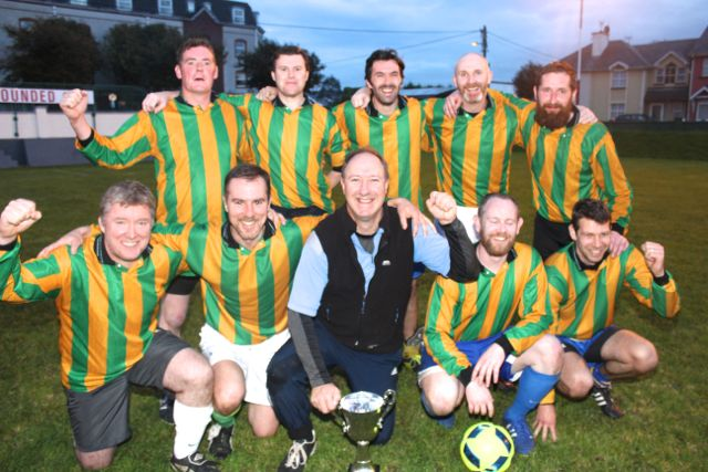 The victorious Kerry County Council team. Photo by Dermot Crean