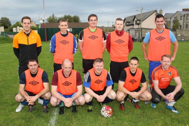 The Garda team who made the final of the Under 35s. Photo by Dermot Crean