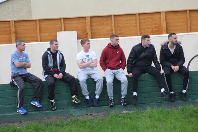 Spectators watching the Under 35s final at the Low Field. Photo by Dermot Crean