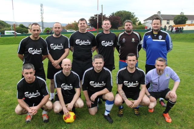 Turner's Bar team who made the semi-finals of the Over 35s. Photo by Dermot Crean