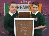 Two Students On 'Dreamy' Trip To Rome To Exhibit Cot Invention