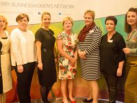Miriam McGillicuddy, Clio O'Gara, Elin Sorenson, Jean Quille, Yolande Nieman, Liz Maher at the KBN Launch Pad event in the Rose Hotel last Wednesday. Photo by Tara O'Donoghue