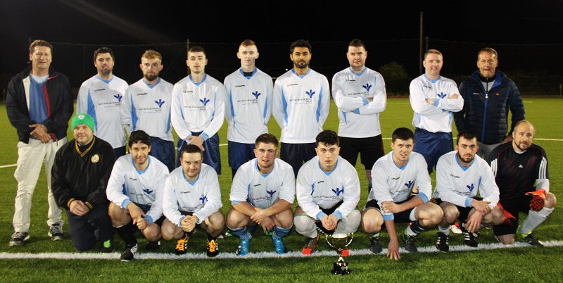 The Bons Secours team for the Mary Kate Healy Memorial Cup. Photo by Gavin O'Connor.