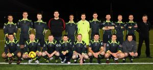 The Garda team for the Mary Kate Healy Memorial Cup. Photo by Gavin O'Connor.