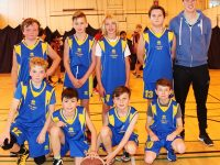 Scol Eoin at the Mounthawk Primary School Basketball tournament. Photo by Gavin O'Connor.