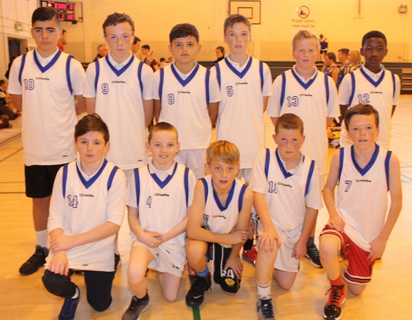 CBS at the Mounthawk Primary School Basketball tournament. Photo by Gavin O'Connor.