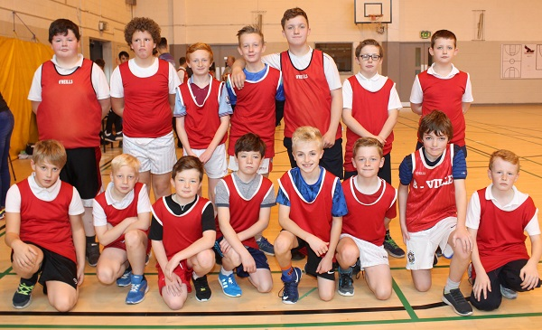 Blennerville National School at the Mounthawk Primary School Basketball tournament. Photo by Gavn O'Connor.