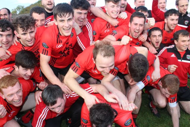 Glenbeigh Glencar celebrate. Photo by Dermot Crean