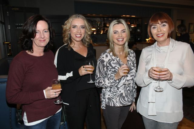 Catriona Meighan, Helen Leahy, Linda Lowth and Trish O'Flaherty at the 'Look Good, Feel Good' charity fashion event at The Ashe Hotel on Wednesday night. Photo by Dermot Crean