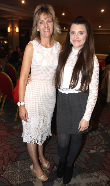Tara and Gabby O'Brien at the 'Look Good, Feel Good' charity fashion event at The Ashe Hotel on Wednesday night. Photo by Dermot Crean