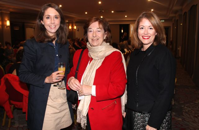 Ciara, Sheila and Anne Looney at the 'Look Good, Feel Good' charity fashion event at The Ashe Hotel on Wednesday night. Photo by Dermot Crean
