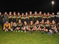 The winning Austin Stacks Junior Team, with mentors, William Kirby, Richie Conway and Jonathan Magnier. Photo by Adrienne McLoughlin.