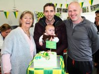 At the party for Marc O'Se in the CBS The Green were Marc and son Tadgh, principal Anne O'Callaghan and Fergus Clifford. Photo by Gavin O'Connor.