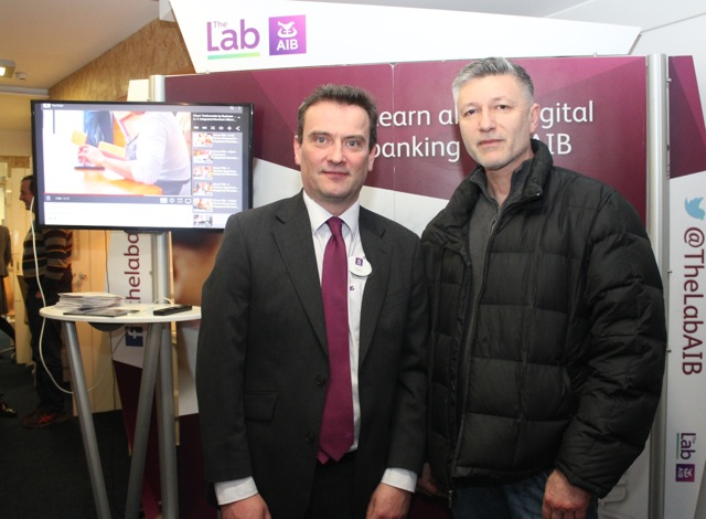 at the AIB presentations to businesses in HQ Tralee on Tuesday. Photo by Dermot Crean