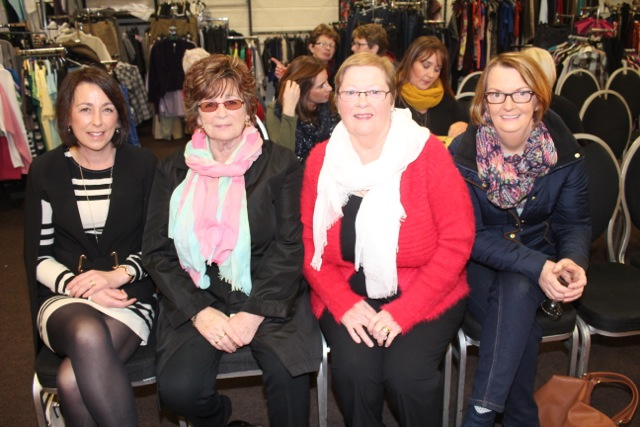 Margaret Raggett, Breda Collins, Nora Cahill and Kathleen O'Sullivan at the Adapt Fashion Show on Friday night. Photo by Dermot Crean