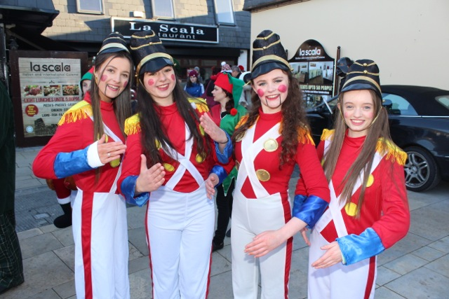Toy soldiers at the CH Chemists Christmas Parade on Saturday. Photo by Dermot Crean