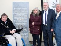 Stone Plaque Unveiled To Honour Christie Hennessy