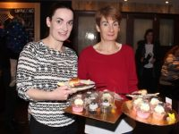 Jennifer Kissane and her mom, Noreen Quirke, at the coffee morning in aid of Irish Premature Babies at House/The Abbey Inn on Thursday. Photo by Dermot Crean