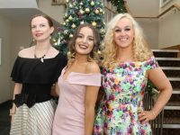 Anne Marie O'Flaherty, Susan Lawlor and Liranda Krasniqi  at the Connect Kerry Ladies Lunch in aid of Recovery Haven at Ballyroe Heights Hotel on Sunday. Photo by Dermot Crean