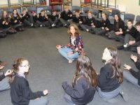 Gaelcholáiste Students Take Part In Positive Mental Health Week Activities