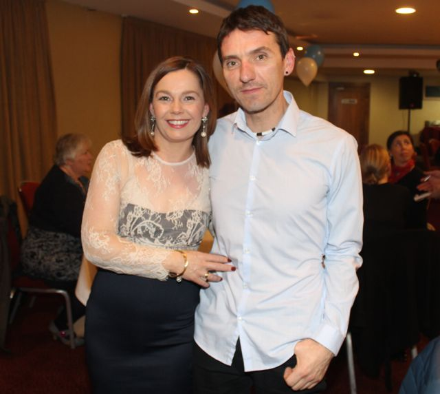 Linda Duggan and Mark Commane at the Tralee Harriers annual social and awards night at the Manor West Hotel on Friday night. Photo by Dermot Crean