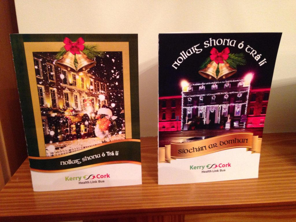 JAK Christmas Cards with The Grand Hotel and The Ashe Memorial Hall.