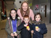 Roisin, Tommy, Sarah and Eilish Corridan at the ITT STEM event as part of Science Week on Saturday. Photo by Dermot Crean