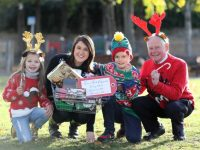 14/11/2016 NO REPRO FEE, MAXWELLS DUBLIN Ellamay Melia (6), Iseult Ward (CEO & Co-Founder FoodCloud), Lughán Ó Riagáin (8) and Joe Smith (Lions Club Coordinator) help launch the annual Christmas Food Appeal at Tesco which will take place on Friday 25th and Saturday 26th November between 11am – 7.30pm in Tesco stores nationwide. Tesco Ireland are asking shoppers to support families in need by donating a food item during the two-day Christmas Food Appeal. PIC: NO FEE, MAXWELLPHOTOGRAPHY.IE