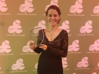 National Accolade For Joanne At Triathlon Ireland Awards