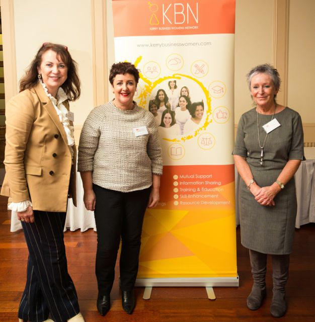 KBN Liz Maher, Chairperson Kerry Women's Business Network, Kari O Toole, A photo book for you, Gerry O Sullivan, Trainer and Meditation