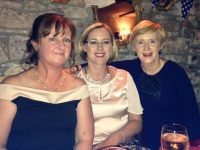 Shirley Doody, Hazel Nix and Marie Nix in Cassidy's Restaurant for the Kerins O'Rahillys Ladies Night Out on Saturday.