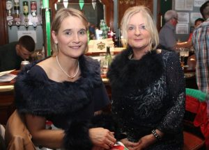Agnes and Jenny Sheehy at the Na Gaeil Race Night on Saturday night. Photo by Dermot Crean