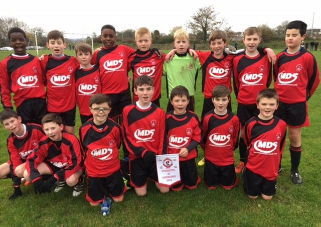 Park Fc U13A before the defeated Avenue United to advance to the last 32 of the national SFAI cup