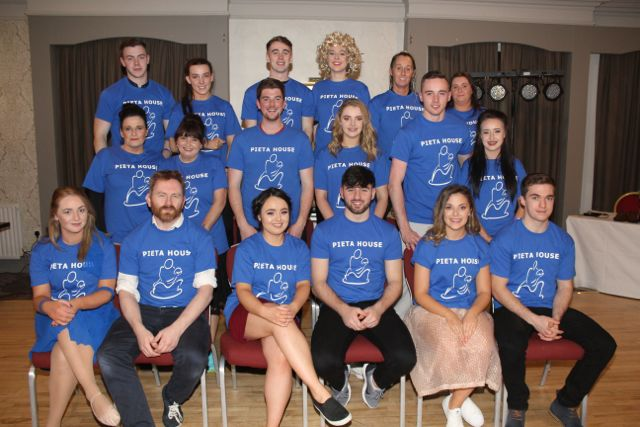 The contestants in the 'Strictly Come Dancing' event in aid of Pieta House at the Ashe Hotel on Thursday. Photo by Dermot Crean