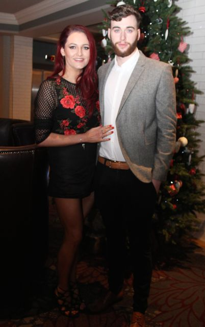 Aoibheann Lyons and Robert Purcell at the 'Strictly Come Dancing' event in aid of Pieta House at the Ashe Hotel on Thursday. Photo by Dermot Crean