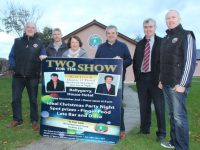 Looking forward to St Pat's GAA's 'Two For The Show' night at Ballygarry House Hotel on December 2 were club members Tadhg O'Halloran, Conor Culloo, Kathy Hogan, Terry Boyle, Dan O'Sullivan and Johnnie Enright. Photo by Dermot Crean