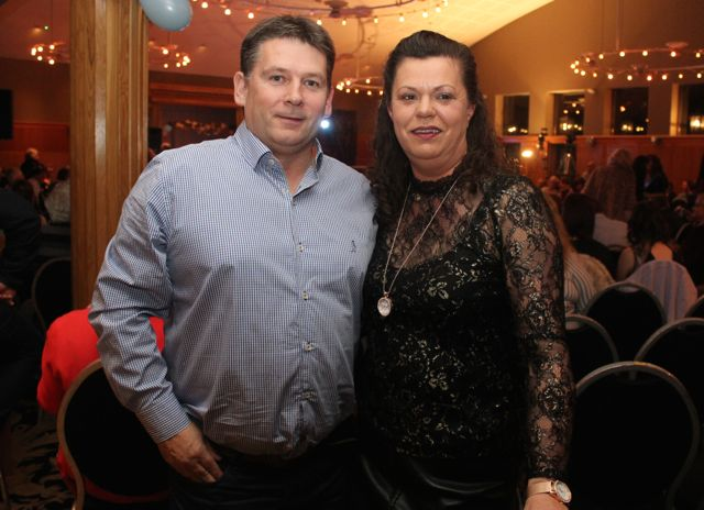 Paul O'Regan and Geraldine O'Regan at the St Brendan's Hurling Club 'Strictly Come Dancing' in the Ballyroe Heights Hotel on Saturday night. Photo by Dermot Crean