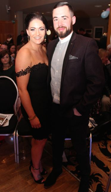 Cassie Leen and Sean O'Keeffe at the St Brendan's Hurling Club 'Strictly Come Dancing' in the Ballyroe Heights Hotel on Saturday night. Photo by Dermot Crean