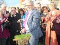 Ted Moynihan at the turning of the sod on the new palliative care unit at UHK back in November 2016.